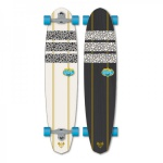 Flying Wheels Longboard Cruiser Aladin Komplettboard 45.0 x 10.0 inch Carver - Special Edition mit Koston Kugellagern
