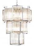 Casa Padrino Luxus Hotel Kronleuchter Silber Durchmesser 58 x H. 84 cm - Limited Edition