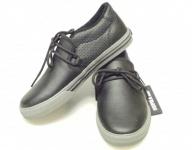 SUPRA Skateboard Schuhe Cuban Kids Schwarz/Grau