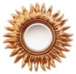 Casa Padrino Luxus Spiegel / Wandspiegel Gold Ø 82 cm - Designer Kollektion