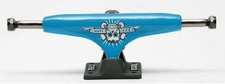 Crail Skateboard Achsen Set 129 LOW LIGHT El Gomes schwarz/blau (2 Achsen)