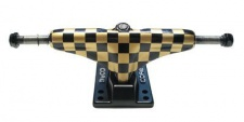 Core Skateboard Achsen Set 5.0 checkered gold/schwarz (2 Achsen)