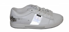 Osiris Skateboard Schuhe Volley Girls White / Silver Sneakers Shoes