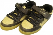 Circa Skateboard Schuhe 205 Vulc-- Chocolate/ Weave/Crepe