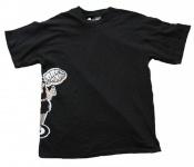 Dream Skateboards Herren Skateboard T-Shirt Black