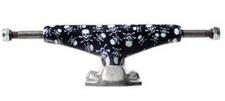 Grind King Skateboard Achsen Set 5.0 MID KUSTOM Skull & Crossbones schwarz (2 Achsen)