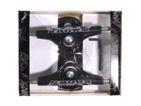 Krown Skateboard Achsen Set 5.0 Logo schwarz (2 Achsen)