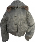 N2B Parka Jacke Olive - Flying Jacket - Fliegerjacke
