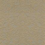 Casa Padrino Barock Textiltapete Braun / Gold - 10, 05 x 0, 53 m - Stofftapete mit strukturierter Oberfläche