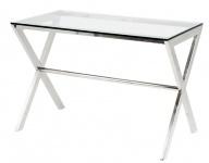 Casa Padrino Luxus Schreibtisch 110 x 60 x H. 75 cm - Designer Kollektion