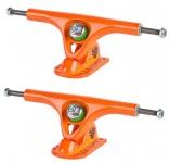 PARIS Longboard Skateboard Achsen V2 Set 180mm / 50° Orange (2 Achsen)