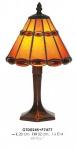 Tiffany Tischleuchte Durchmesser 20cm, Höhe 32cm GTD0245 + P7477 Leuchte Lampe