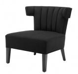 Casa Padrino Luxus Sessel Schwarz - Designer Möbel
