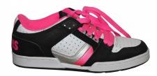 Osiris Skateboard Schuhe Harlem Girls Black/ White/ Pink/ Silver sneakers Shoes