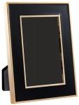 Casa Padrino Tisch-Bilderrahmen 6er Set Schwarz / Gold 15 x H. 21 cm - Luxus Deko Accessoires