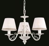 Casa Padrino Barock Decken Kronleuchter Schnee Weiß 50 x H 34 cm Antik Stil - Möbel Lüster Leuchter Hängeleuchte Hängelampe