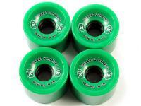 Big Foot Longboard Wheels Stalkers Grün 70mm / 81a Wheel Set Rollen Skateboard Bigfoot