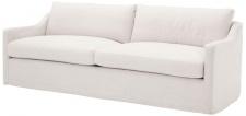 Casa Padrino Luxus Wohnzimmer Sofa Weiß 230 x 100 x H. 75 cm - Wohnzimmermöbel