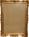 Casa Padrino Barock Holz Bilderrahmen 85 x 64 cm Gold - Großer Bilder Rahmen Foto Rahmen Jugendstil Antik Stil - Made in Italy