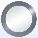 Casa Padrino Wohnzimmer Spiegel Grau Ø 110 cm - Luxus Qualität