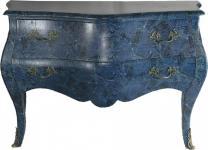 Barock Kommode Jeans Design 120cm