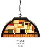 Tiffany Hängeleuchte Durchmesser 35cm TT109 + C Leuchte Lampe