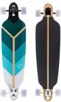 Voltage Longboard Drop Through Komplettboard Directional Green 39.75 x 10 inch - Complete - Special Edition mit Koston Kugellagern
