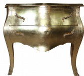 Casa Padrino Barock Kommode Gold 100cm Antik Stil