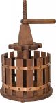 Casa Padrino Flaschenträger für 6 Flaschen aus Massivholz - Weinflaschen Halter Weinflaschenträger Echtholz