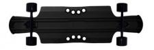 Beercan Boards Longboard Cruiser Komplettboard Kegger Lite 10.5 x 40.0 inch Black - Aluminium Skateboard Long Board