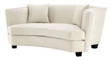 Casa Padrino Designer Sofa Naturfarbig 178 x 107 x H. 72, 5 cm - Luxus Kollektion