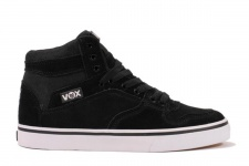 Vox Skateboard Schuhe Accent Black/Black/White