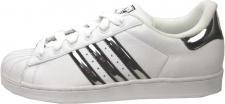 Adidas Herren Sportschuhe Superstar 2 Mir Lifestyle Weiß / Silber Sneaker Sneakers Trainers Schuhe