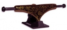 Crail Skateboard Achsen Set 129 LOW LIGHT Pattern Lysergic bronze/schwarz (2 Achsen)