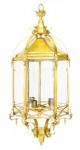 Casa Padrino Barock Hängeleuchte Gold - Restaurant - Hotel Lampe Leuchte Laterne
