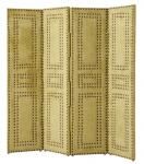 Casa Padrino Luxus Raumteiler Hellgrün 120 x H. 120 cm - Hotel Kollektion