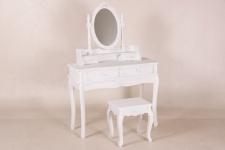 Casa Padrino Schmink Tisch Shabby Chic Landhaus Stil Look Roses Schmink Konsole Barock Antik Jugendstil