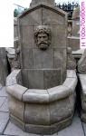 Casa Padrino Antik Stil Stein Garten Brunnen H100cm - Steinbrunnen Barock Jugendstil Garten Dekoration