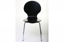 Casa Padrino Designer Stuhl Form Schwarz 14