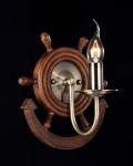 Casa Padrino Barock Wandleuchte Bronze 22, 7 x H 23, 6 cm Antik Stil - Wandlampe Wand Beleuchtung