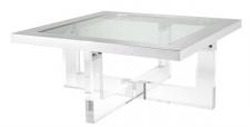 Casa Padrino Luxus Couchtisch 100 x 100 x H. 43 cm - Designer Wohnzimmertisch