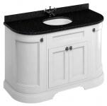 Casa Padrino Waschschrank mit Granitplatte und 4 Türen - Antik Stil Waschtisch