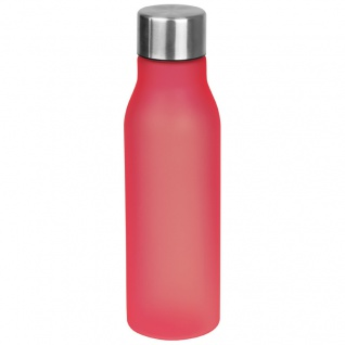Kunststoff Trinkflasche / 0, 55l / Farbe: rot