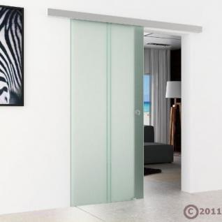Schiebetür Glas 1025 x 2050 x 8 mm senkrecht gestreift - Vorschau 3