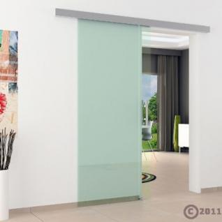 Glasschiebtüren 775 x 2050 x 8 mm Klarglas Stangengriff - Vorschau 3
