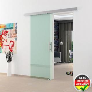 Glasschiebtüren 775 x 2050 x 8 mm Klarglas Stangengriff - Vorschau 1