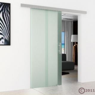 Glas Schiebtür m. Stangengriff 775 x 2050 x 8 mm - Vorschau 3