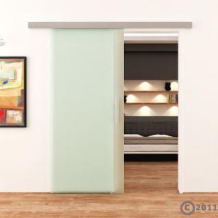 Glasschiebetür komplett satiniert DORMA AGILE 775x2050 - Vorschau 2
