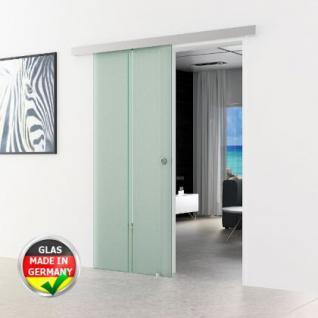 Schiebetür Glas 900 x 2050 x 8 mm senkrecht gestreift