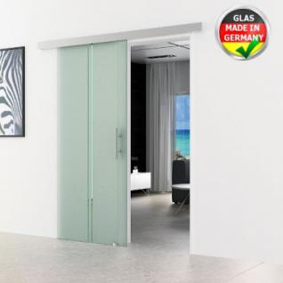 Glas Schiebtür m. Stangengriff 900 x 2050 x 8 mm
